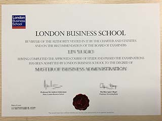 Where can I replace a lost London Business School degree?