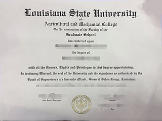 Where to order a fake Louisiana State University degree, buy LSU fake diploma
