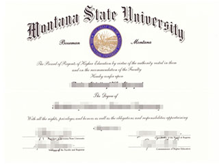 Where to order a fake Montana State University degree, buy MSU diploma