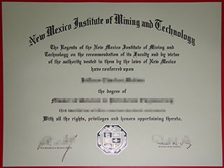 Order New Mexico Institute of Mining and Technology diploma, make New Mexico Tech degree