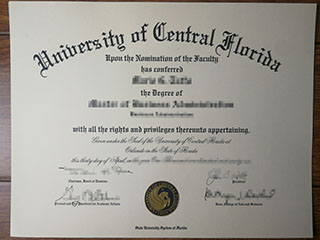 Where to order a fake University of Central Florida degree, buy UCF diploma