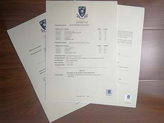 Order a fake University of Liverpool transcript, buy fake degree in Liverpool