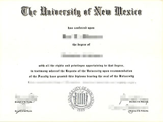 Order a fake University of New Mexico degree,  buy UNM diploma online