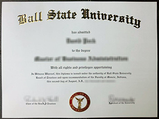 Where to order a fake Ball State University diploma, buy BSU degree