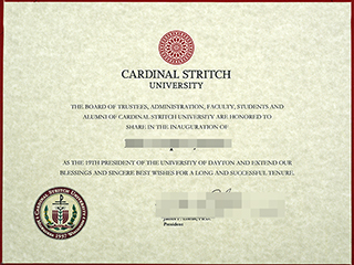 Where to order a fake Cardinal Stritch University degree, buy America diploma