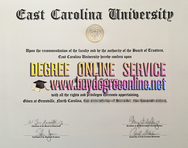 East Carolina University degree