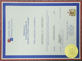Where to buy a fake LTTC diploma in TESOL, get TESOL certificate