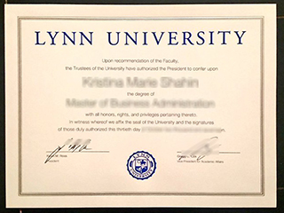 Where to order a fake Lynn University degree in Florida, United States