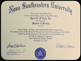 Where to buy a fake NSU degree, obtain a fake Nova Southeastern University diploma