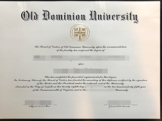 Where to order a fake Old Dominion University degree, buy ODU diploma
