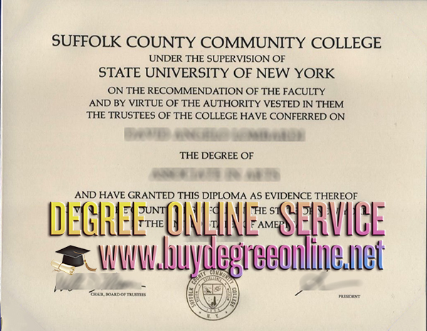 Suffolk County Community College degree