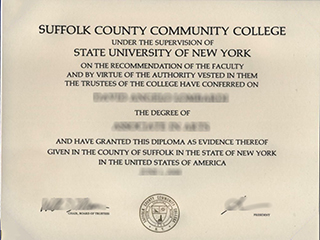 Where to order a fake Suffolk County Community College(SCCC) degree