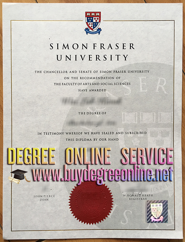 Simon Fraser University degree