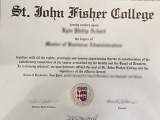 Where to order a fake St. John Fisher College degree online