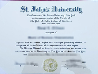 Where can I get a fake St. John's University degree online?
