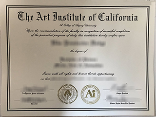 Where can I order a fake Art Institute of California degree online