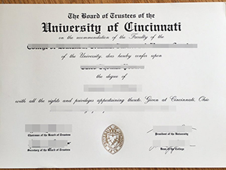 Where to get a fake University of Cincinnati degree, order UC fake diploma