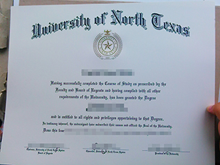 The best wedsite to order a fake University of North Texas(UNT) degree