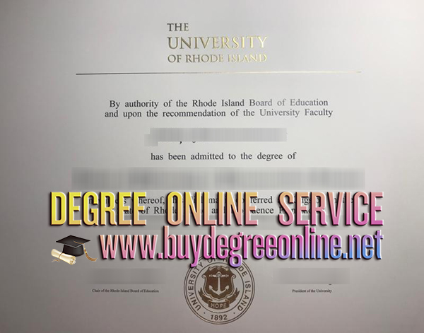 University of Rhode Island degree