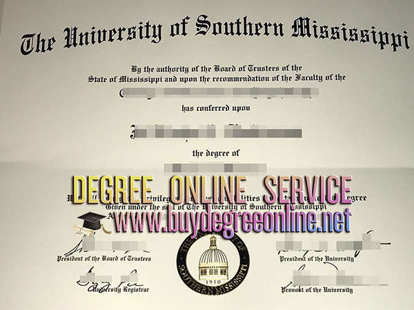 University of Southern Mississippi degree