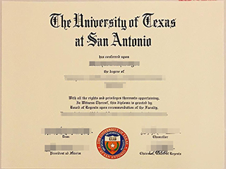 Where to get a University of Texas at San Antonio fake degree, buy UTSA diploma
