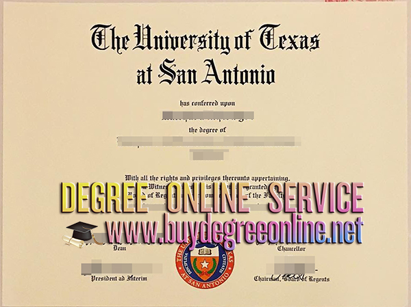 University of Texas at San Antonio degree