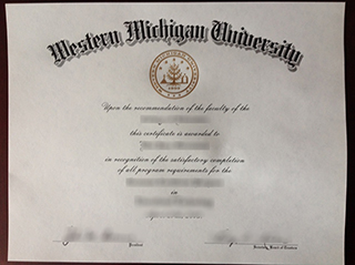 Where to buy a fake Western Michigan University degree, obtain WMU diploma