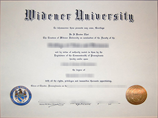 Where to order a fake Widener University degree from America