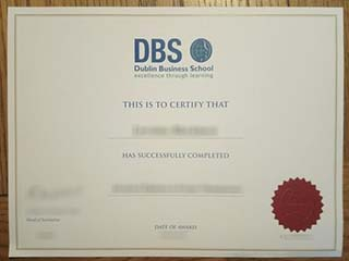 Buy Dublin Business School degree, obtain a fake DBS diploma in Ireland