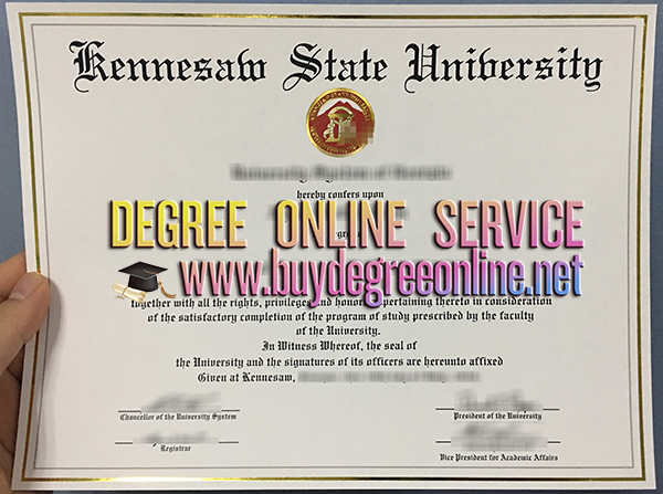 Kennesaw State University degree