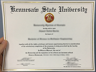 Where to buy a realistic Kennesaw State University degree, copy KSU diploma