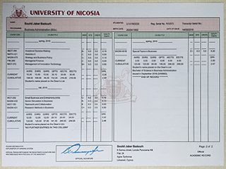 Where  to order a fake University of Nicosia transcript, buy UNIC diploma