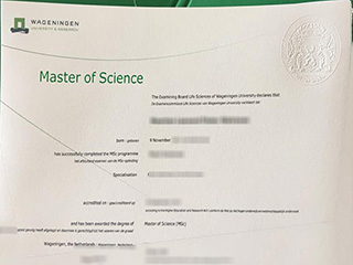Where to buy a fake Wageningen University & Research degree, order WUR diploma