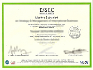 Where to buy ESSEC Business School Master diploma, order ESSEC certificate