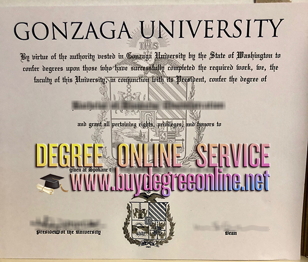 Gonzaga University degree