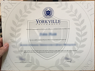 Where to get a Yorkville University degree, buy Canadian diploma