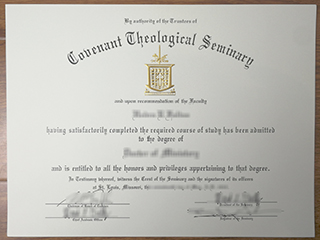 Where order a #Covenant Theological Seminary degree online
