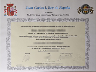 How to buy a 100% copy of European University of Madrid degree, get UEM certificate