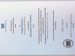 Fake Technical University of Munich diploma, buy TUM degere in Germany