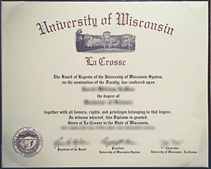 How to get a fake University of Wisconsin–La Crosse degree, UWL diploma