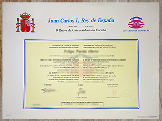 How much to obtain a fake University of A Coruña degre online