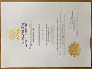 What do you need to get a Western University degree? Buy UWO diploma