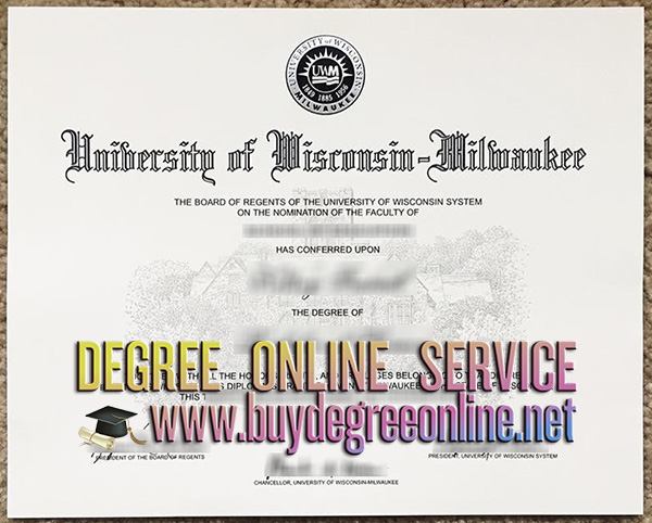 University of Wisconsin Milwaukee degree