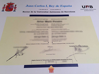 Obtain a fake Autonomous University of Barcelona diploma, get UAB diploma