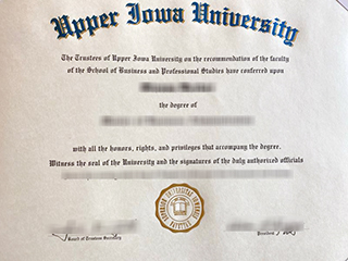Where to buy a fake Upper Iowa University diploma, obtain UIU degree