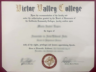 The easiest method to get a fake Victor Valley College degree online