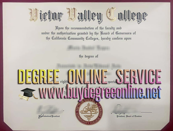 Victor Valley College degree