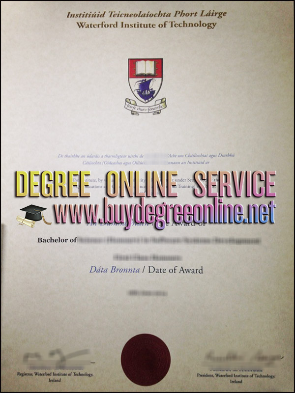 Waterford Institute of Technology diploma