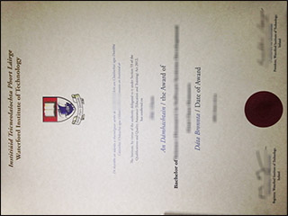 Order Waterford Institute of Technology diploma, get WIT degree in Ireland