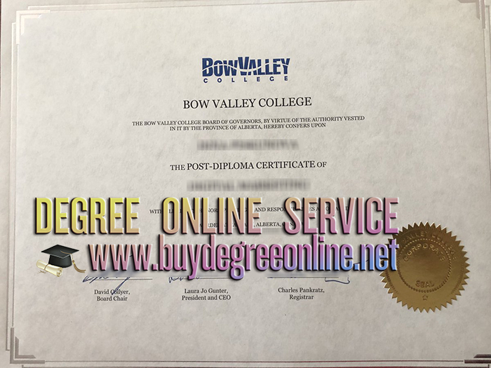 Bow Valley College diploma